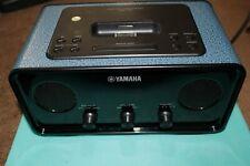 YAMAHA - TSX-70 DESKTOP AUDIO SYSTEM BLUE WITH ORIGINAL POWER CORD