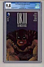 DC's Dark Knight III: Master Race #3 Paul Pope Convention Variant CGC 9.8