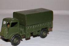 1950's Dinky #623 Army Wagon Truck, Nice Original