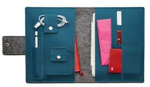 Handmade iPad Pro/Air Folio Case. Apple Pencil Holder. Magic Keyboard Compatible
