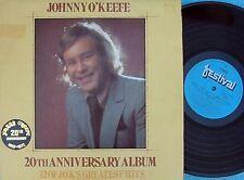 Johnny O'Keefe~Original OZ 2XLP NM 20th anniversary album 1972 Rock 'n' roll R&B