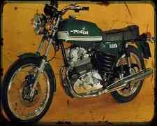 Ducati 350Gtv 77 A4 Photo Print Motorbike Vintage Aged