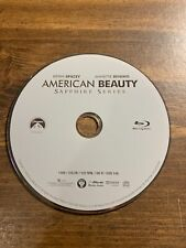 American Beauty Blu-ray 2010 Disc Only Kevin Spacey Annette Benign Sapphire Ser.