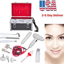 5IN1 Multi-Function High Galvanic Facial Brush Vacuum Spray Salon Machine Smooth