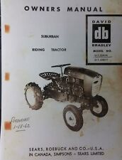 Sears David Bradley Tractor Amp Engine Owner Amp Parts 2 Manuals 91760616 Amp 60617