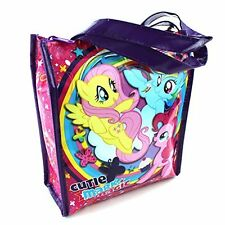 Hasbro Insulated Lunch Bag My Little Pony Soft Tote Food-safe Fabric Multi-Color