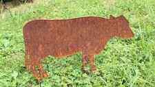 EDELROST Kuh Mutter Rind Tier Skulptur Rost Gartendeko Edel Kunst Deko NEU