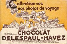 Buvard   Chocolat  Délespaul Havez
