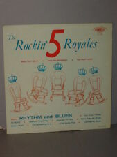 1956 DEEP GROOVE YELLOW LBL U.S THE ROCKIN ' 5 ROYALES LP MT/JACKET NEVER PLAYED