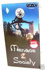 Bicycle Menace 2 Society Racing BMX  VHS Video NEW