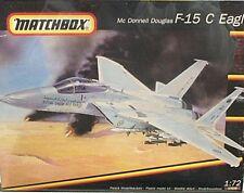 Matchbox 1/72 McDonnell Douglas F-15 C Eagle Vintage 1991 NIB