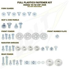 Bolt Full Plastics Fastener Kit Honda CRF 450 CR450F R CRF450R 05 06 07 08 NEW