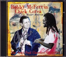 Chick COREA Signiert THE MOZART SESSIONS Bobby McFERRIN Piano Concerto 20 23 CD