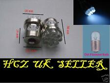 2x 9 LED R5W 207 1156 Rear Car Side Light Bulbs White Blue Red Amber UK