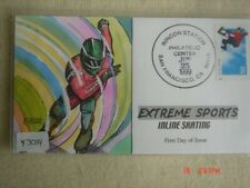 Extreme Sports Inline Skating 33c Stamp FDC HandPainted Collins#Y3004 Sc#3324