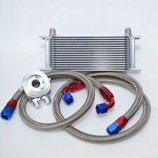 16 Reihen Ölkühler inkl. Anschluss Set VW GOLF 1 2 3 4 5 6 16V G60 TURBO GTI VR6