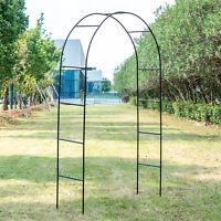 Outdoor Metal Garden Arch Gothic Arbor Garden Trellis For Climbing Plant Growing