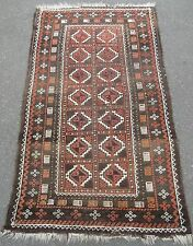 ANTIQUE COUNTRY HOUSE SHABBY CHIC SALAR KHANI  BALUCHI BALOUCH EAST PERSIAN RUG