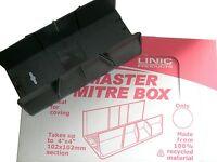 Linic Display Box of 10 Master Mitre Blocks 102 x 102mm x 320mm UK Made MB7010