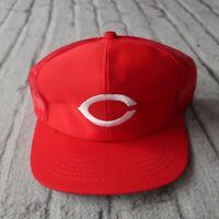 Vintage New Cincinnati Reds Mesh Trucker Snapback Hat 90s Cap Sports Specialties