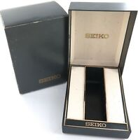 .VINTAGE SEIKO MENS WATCH DISPLAY BOX + OUTER.