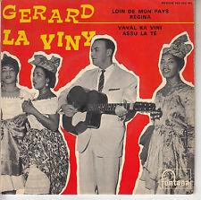 45TRS VINYL 7''/ RARE FRENCH EP GERARD LA VINY / LOIN DE MON PAYS + 3 BIGUINES