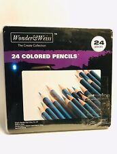 Wonder £} Weiss The Creare Collection24 Pieces Colored Pencils
