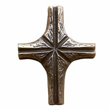 Bronzekreuz Ornament 8 cm * 7 cm Kommunion Bronze Cross Ornament