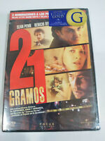 21 Grammi Sean Penn Benicio Del Toro - DVD Regione 2 Spagnolo Inglese Nuovo