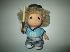 1991 Enesco Precious Moments Hi Babies Doll Baseball Player #10