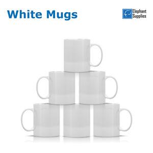 Sublimation Mugs White 11oz Coated Cup Blank Heat Press Transfer Blank Mug