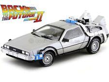 """1989 DeLorean DMC 12 """"Regreso al futuro II"""" 1 18 Hot Wheels Cmc98"""