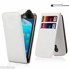 Flip Cartera De Cuero Pu Funda Protectora Para Samsung Galaxy S4 Mini Protector De Pantalla Gratis