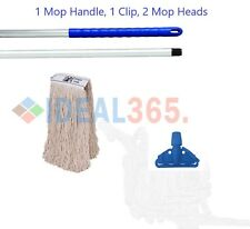 More details for blue kentucky complete mop set traditional cleaning floor cleaner home kitchen