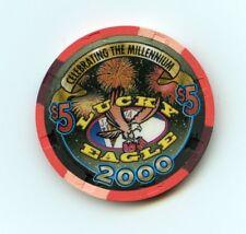 $5.00 Chip. Lucky Eagle Casino. Rochester, WA.