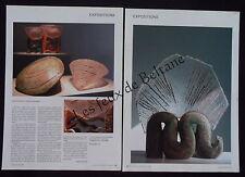 Document photo EDMEE DELSOL ceramique et verre  ceramics    2005