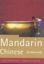 NEW - The Rough Guide to Mandarin Chinese (a dictionary phrasebook)