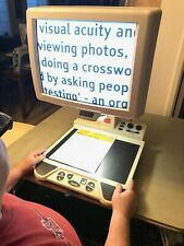 """OPTELEC 17"""" Color Clearview 500 517 Low Vision Video Magnifier REFURB 50x w/ SF"""