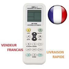 TÉLÉCOMMANDE UNIVERSELLE INFRAROUGE CLIMATISEUR CLIM  LCD A/C  AIR CHAUFFAGE