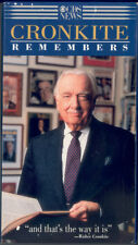 Cronkite Remembers (Walter Cronkite, VHS, CBS Video, 1996)