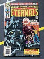 Eternals #1 Marvel 1976 Origin 1st appearance Jack Kirby 2020 Movie MCU