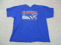 Nike Florida Gators Shirt Adult Extra Large Blue UF Football Champions Mens A31