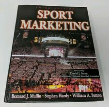 Sport Marketing 3rd Edition Human Kinetics ISBN 9780736060523 Hardcover Book