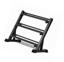 3-Tier Dumbbell Rack, Multilevel Weight Storage Organizer, Store Gym Equipment