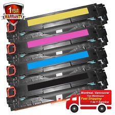 4PK Toner for HP 125A CB540A CB541A CB542A CB543A CP1215 CP1515N CP1518NI