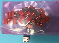 Lot of 25 Grayhill 76PSB04T DIP Switches / SIP Switches SPST (up is off) 4 Pos