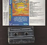 Nothing But A House Party mix, compilation, various artists - cassette tape