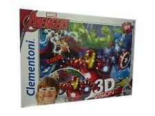 Clementoni Marvel The Avengers 3d Vision Jigsaw Puzzle (104 Piece)