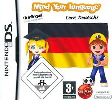 Mind your Language Learn German / Deutsch Nintendo DS - New & Sealed