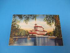 Vista Of The Broadmoor Hotel Pikes Peak,CO Vintage Colorful Postcard PC17